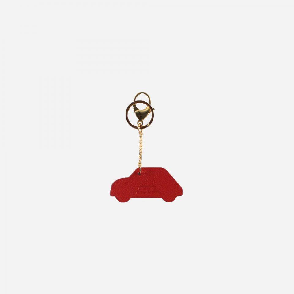 Ciondolo – Portachiavi – Glamour – Dietro – 5595 – Rosso