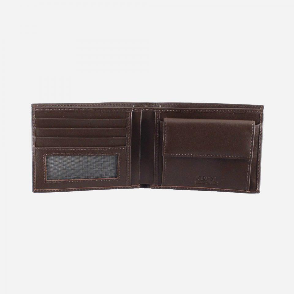Portafoglio – Classic – Marrone – Aperto – 2218
