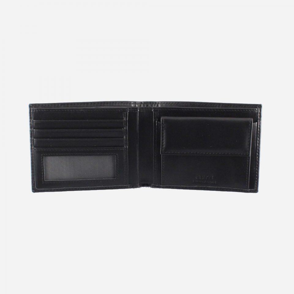 Portafoglio – Classic – Nero – Aperto – 2218