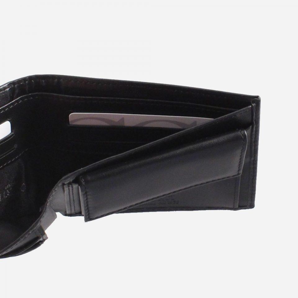 Portafoglio – Classic – Nero – Carte – 2218
