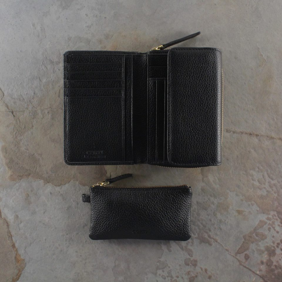 Portafoglio – Portachiavi – Gift box – Glamour – 5576 – 5588 – Nero
